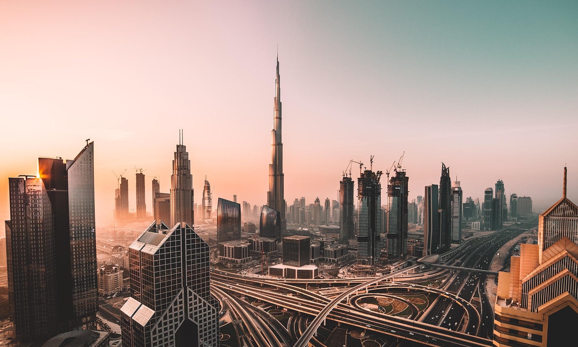Burj Khalifa In Dubai.